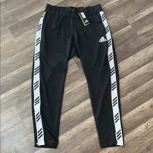 Adidas Basketball Club Black Pant- Size L